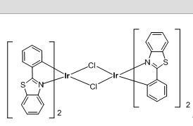 二氯四(2-苯基苯并噻唑)二铱(III)