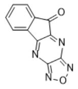 9H-indeno[1,2-b][1,2,5]oxadiazolo[3,4-e]pyrazin-9-one