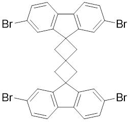 螺[3.3]庚烷, 2,6-双(2,7-二溴-9H-芴)-