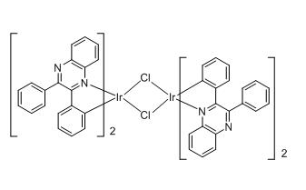 Tetrakis(2,3-diphenylquinoxaline-C2,N')(µ-dichloro)diiridium(III)