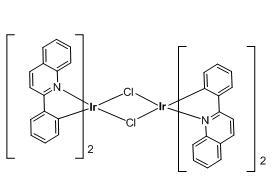 Tetrakis(2-phenylquinoline-C2,N')(µ-dichloro)diiridium(III)