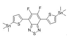 5,6-二氟-4,7-双(5-三甲基锡基噻吩-2-基)苯并[c][1,2,5]噻二唑