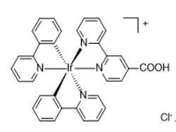 Bis(2-phenylpyridine-C2,N)(4-carboxyl-2,2'-bipyridine)iridium(III) chloride