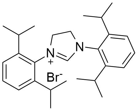 1,3-双[2,6-双(1-甲基乙基)苯并]-4,5-二氢-1H-咪唑 溴