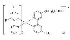双(4,6-二氟-2-(2-吡啶基)苯基-C2,N)(4-甲基-4'-丙羧基-2,2'-联吡啶基)合铱