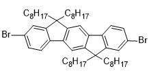 2,8-二溴-6,12-二氢-6,6,12,12-四辛基-茚并[1,2-B]芴