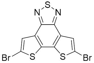 5,8-Dibromodithieno[3',2':3,4;2'',3'':5,6]benzo[1,2-c][1,2,5]thiadiazole