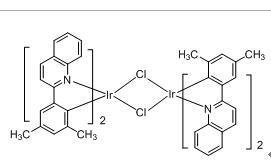 Tetrakis(2-(3,5-Dimethylphenyl)quinoline-C2,N')(µ-dichloro) diiridium(III)