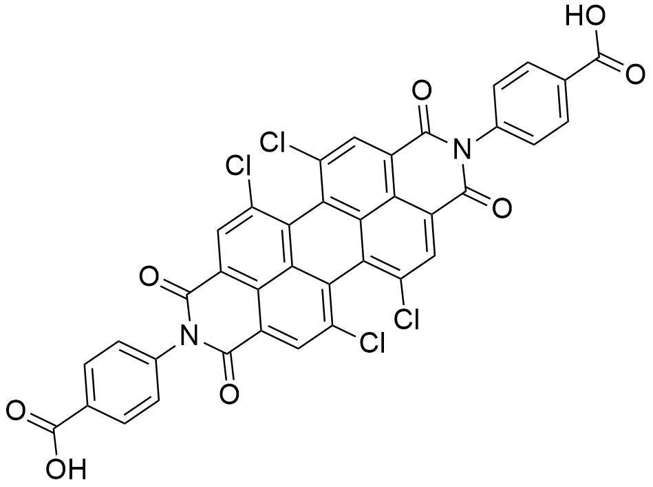 4,4'-(5,6,12,13-四氯-1,3,8,10-四氧嘧啶[2,1,9-def:6,5,10-d'e'f']二 异喹啉-2,9(1H,3H,8H,10H)-二基)二苯甲酸