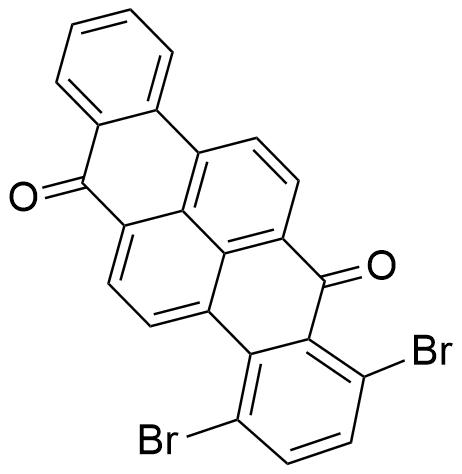 1,4-二溴二苯并[c,pqr]丁苯-7,14-二酮