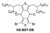 1,3-Dibromo-5,7-bis-(2-hexyldecyl)-2,6-dithia-s-indacene-4,8-dione