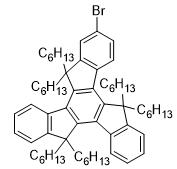 2-Bromo-5,5,10,10,15,15-hexahexyl-10,15-dihydro-5H-diindeno[1,2-a:1',2'-c]fluorene