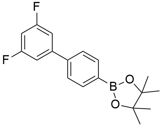 2-(3',5'-二氟-[1,1'-联苯]-4-基)-4,4,5,5-四甲基-1,3,2-二氧杂硼戊烷