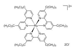 Tris(4,4'-ditertbutyl-2,2'-bipyridyl)ruthenium(II) dichloride
