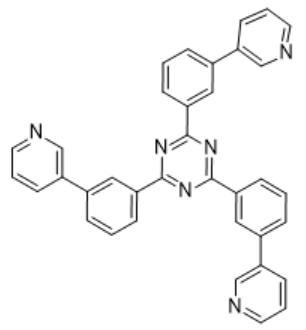 2,4,6-三(3-(吡啶基)苯基)-1,3,5-三嗪
