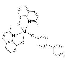 Bis(2-methyl-8-quinolinolato-N1,O8)-(1,1'-Biphenyl-4-olato) aluminum