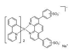 Bis(2-phenylpyridine-C2,N)(bathophenanthrolinedisulfonate) iridium(III)