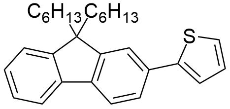 2-(9,9-Dihexyl-9H-fluoren-2-yl)thiophene