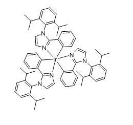 三[(1-2,6-二异丙基苯基)-2-苯基咪唑]合铱