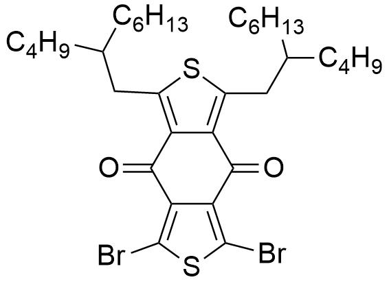 1,3-二溴-5,7-双(2-丁基辛基)-4H,8H-苯并[1,2-C:4,5-C']二噻吩-4,8-二酮
