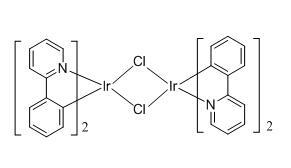 二氯四[ 2-(2-吡啶基)苯基]二铱(III)