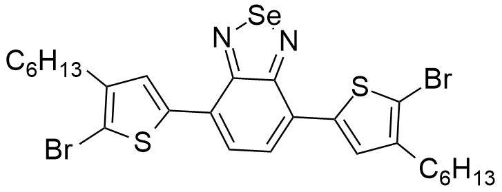 4,7-二(5-溴-4-已基噻吩-2-基)苯并[c][1,2,5]硒二唑