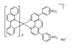 Bis(2-phenylquinoline-C2,N)(bathophenanthrolinedisulfonate) iridium(III)