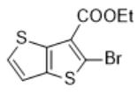 乙基 2-溴噻吩并[3,2-b]噻吩-3-羧酸酯