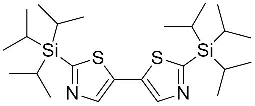 2,2'-双(三异丙基硅基)-5,5'-联噻唑