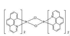 Tetrakis(benzo[h]quinoline-C2,N')(µ-dichloro)diiridium(III)