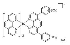 Bis(benzo[h]quinoline-C2,N)(bathophenanthrolinedisulfonate) iridium(III)
