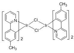 二氯四[2-(对甲苯基)吡啶]二铱(III)