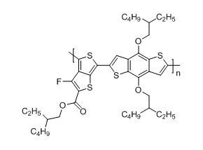 聚[[4,8-双[(2-乙基己基)氧基]-苯并[1,2-B:4,5-B']二噻吩-2,6-二基][3-氟-2-[(2-乙基己基)羰基]噻吩[3,4-b]并噻吩]
