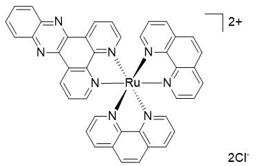 二([1,10-菲啰啉)(4,5,9,14-四氮-苯并[b]三苯)钌(II)二氯