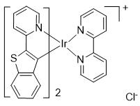 二(2-(苯并[b]噻吩-2-基)吡啶-C2,N')(2,2'-联吡啶)合铱