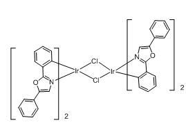 Tetrakis(2,5-diphenyloxazole-C2,N')(µ-dichloro)diiridium(III)
